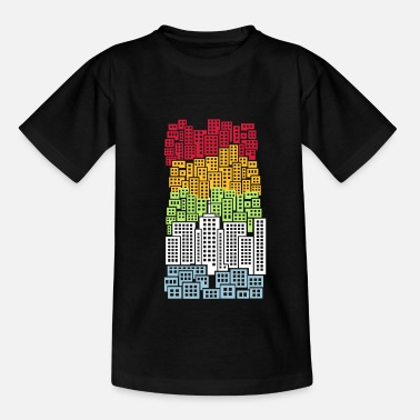 Highrise Building City - Teenage T-Shirt