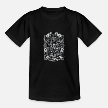 Militaria Street Rebellion - Teenage T-Shirt