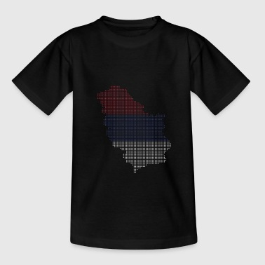 Serbia - Serbia Country with flag - Serbia flag - Teenage T-Shirt