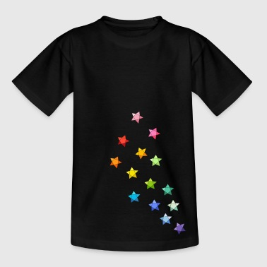 Sternchen Origami - Teenager T-Shirt