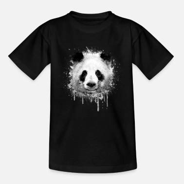 Panda Cool Artistic Panda Portrait conception d'aquarell - T-shirt Ado
