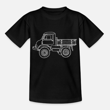 Unimog LASTER - Teenager T-Shirt