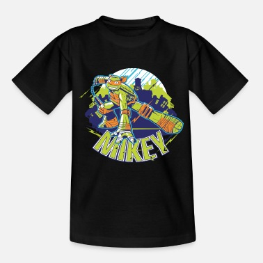 TMNT Turtles Mikey With Nunchucks - Camiseta adolescente