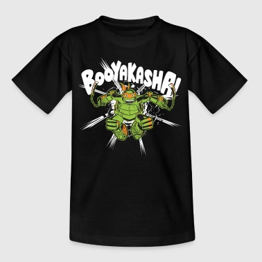 TMNT Turtles Michelangelo Booyakasha - Teenage T-shirt