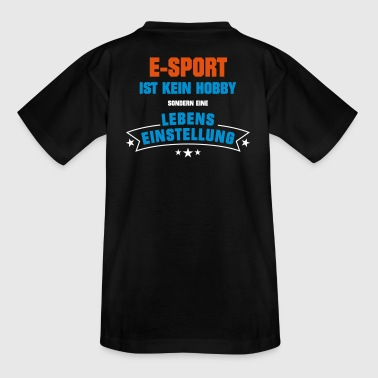 E-Sport Sportart - Teenager T-Shirt