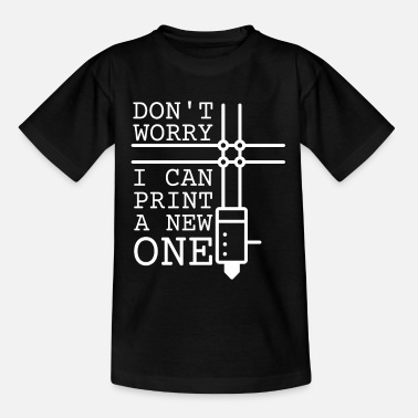 3d 3D printing 3D printer 3D filament - Teenage T-Shirt