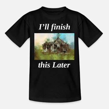 Memes Antique Lovers Collector Old Painting Funny Saying - Teenage T-Shirt