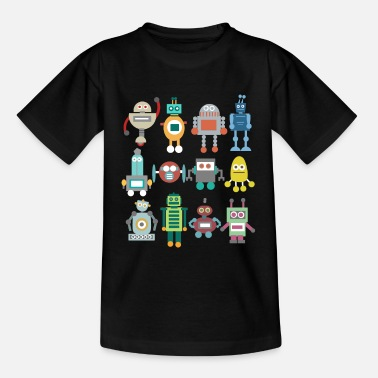Roboter Roboter Retro - Teenager T-Shirt