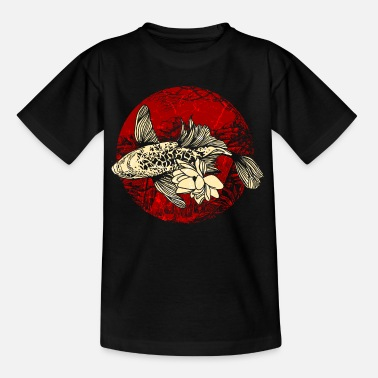 Art Koi fish art japonais - T-shirt Ado
