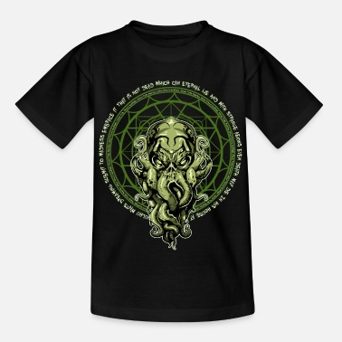 Hp Cthulhu HP Lovecraft - Teenage T-Shirt