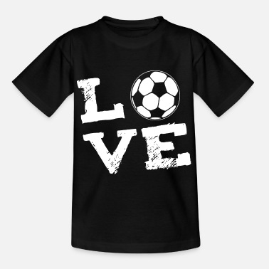 Football LOVE - football - Teenage T-Shirt