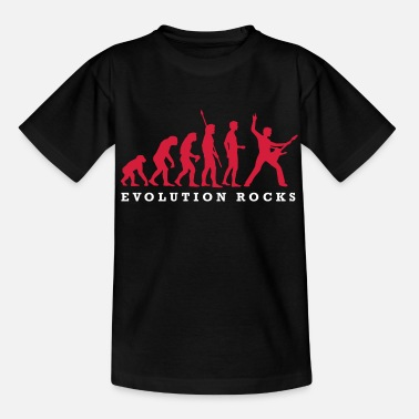 Hardrock evolution_rocks_a_2c - Teenager T-Shirt