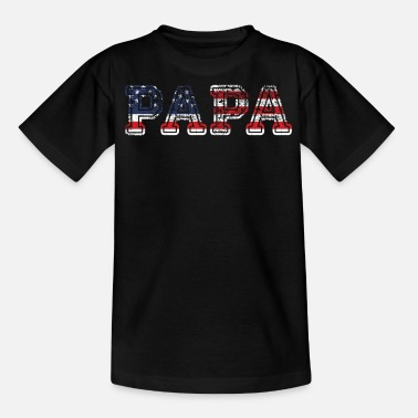 United States united states papa - Teenager T-Shirt