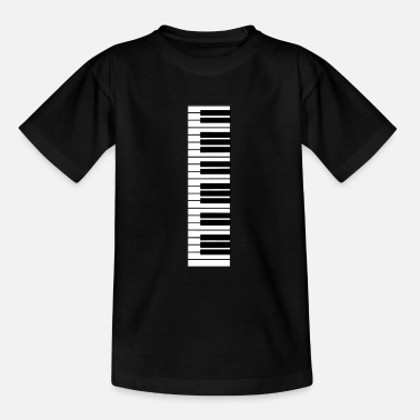 Piano piano, piano keyboard - Teenager T-shirt