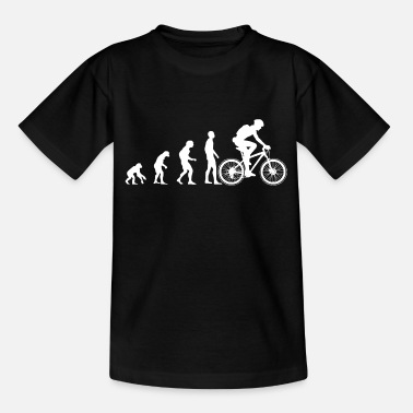 Evolution EVOLUTION Bike White - Teenage T-Shirt