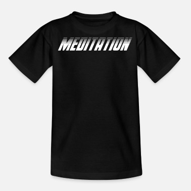Enlightent Meditation Team Fan Coach Tee Shirt - Teenage T-Shirt