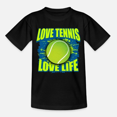 Longline Tennis ball gift - Teenage T-Shirt