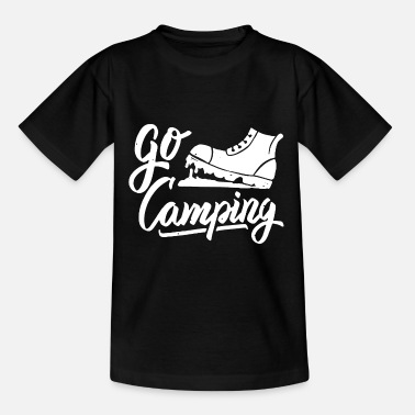 Alps go camping - Teenage T-Shirt