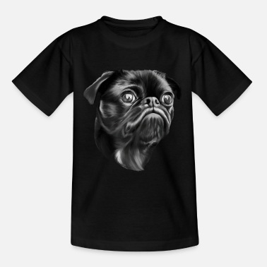 Pug hondenras - Teenager T-shirt