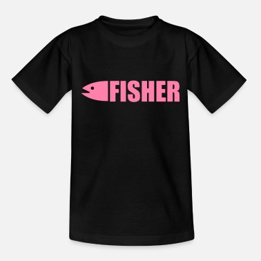Fish Fishing fishing fishing fishing - Teenage T-Shirt