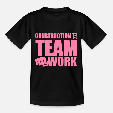 Construction Construction construction worker - Teenage T-Shirt