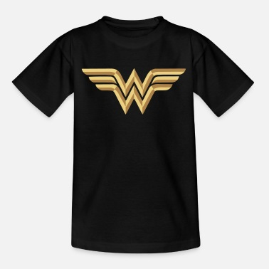 Woman Wonder Woman Logo Vector Teenager T-Shirt - Teenager T-Shirt