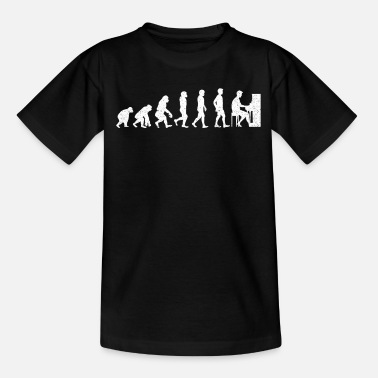 Piano Piano Evolution - Teenage T-Shirt