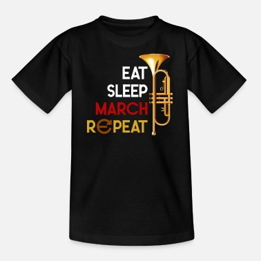 Trumpeter Trumpet - Teenage T-Shirt