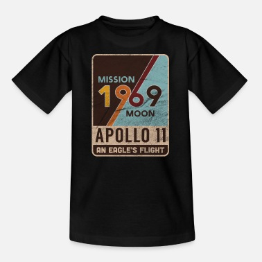 Apollo 11 Retro Mondlandung Geschenk - Teenager T-Shirt