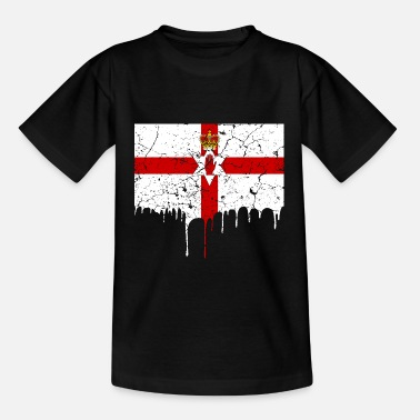Nordirlands flag - T-shirt teenager