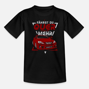 Drive Go By Car Car driving race car saying - Teenage T-Shirt