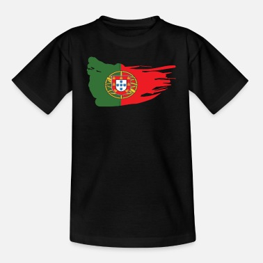 Portugal Portuguese flag gift - Teenage T-Shirt