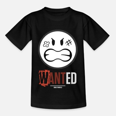 Smiley SmileyWorld Wanted - Maglietta per teenager