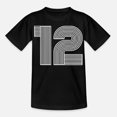 Number 12 SHIRT NUMBER - Teenage T-Shirt