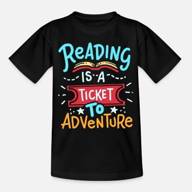 Read Read reading - Teenage T-Shirt