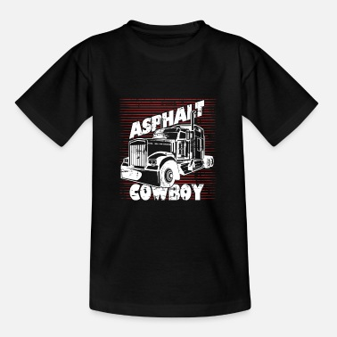 Asphalt Asphalt cowboy - Teenage T-Shirt