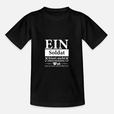 Soldater soldat - T-shirt teenager