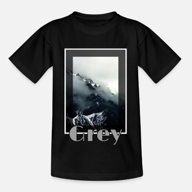 Grau Grau - Teenager T-Shirt