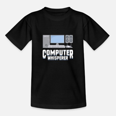 Computer Whisper Computer Scientist Student - Teenage T-Shirt