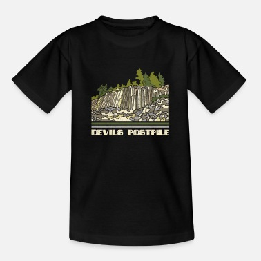 Devils Postpile Shirt National Monument Nature Sou - Teenage T-Shirt