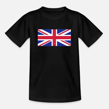 Großbritannien - Union Jack - Teenager T-Shirt