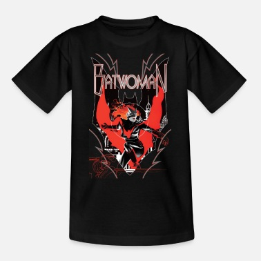 Batwoman in Action Emblem - T-shirt tonåring