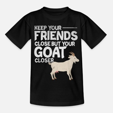 Goat goat - Teenage T-Shirt