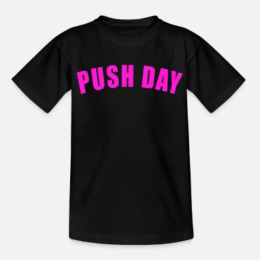 Ascensore GAMBE TIRANTE DA ALLENAMENTO GYM FITNESS REGALO PUSH DAY - Maglietta per teenager