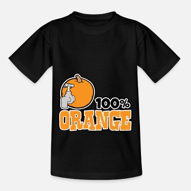 Orange Orange - 100% orange - Teenage T-Shirt