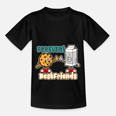 Cookie and Milk - Forever best friends - Teenage T-Shirt