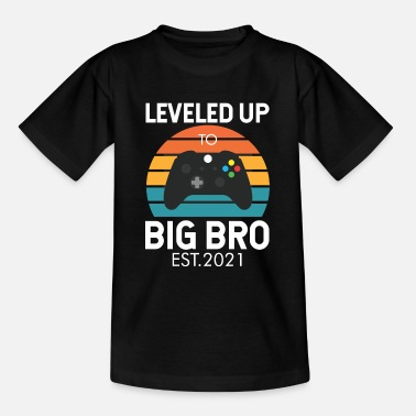 Big Genivelleerd tot BIG BRO - Teenager T-shirt