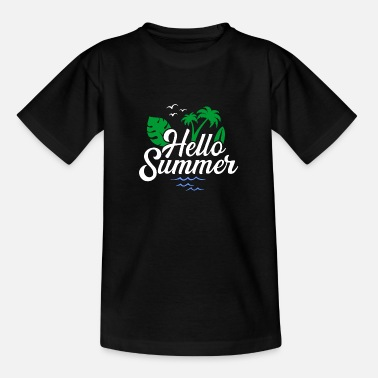 Hallo Sommer - Teenager T-Shirt