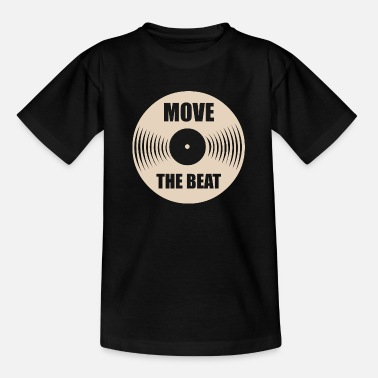 Hifi Verplaats de beat - Teenager T-shirt