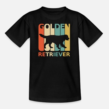 Golden Retriever Hund Hundeliebhaber Hundefan Hund - Teenager T-Shirt